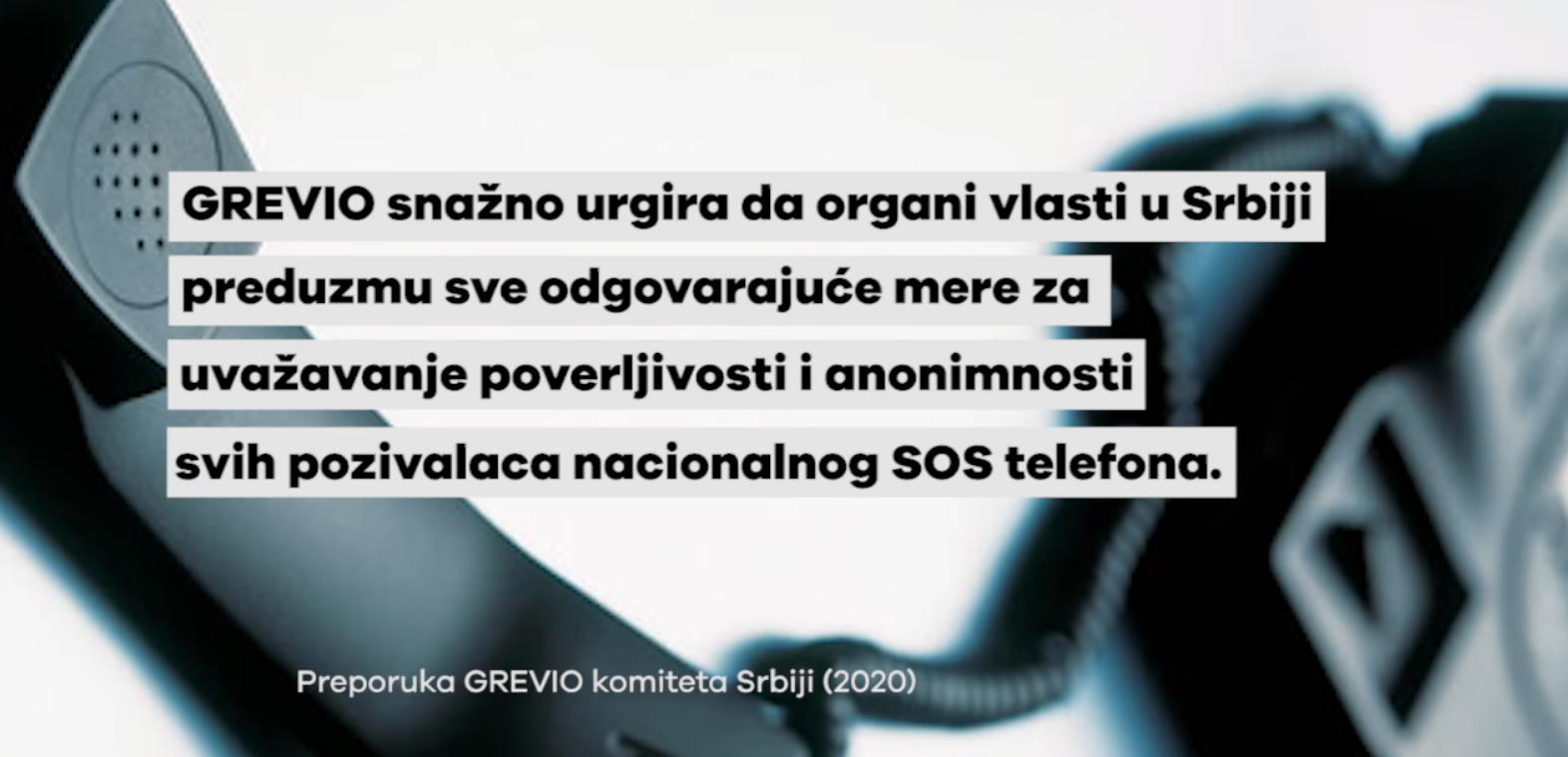 feminizam aktivizam SOS telefon grevio