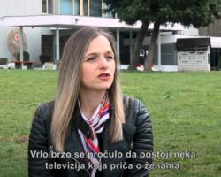 Video: Feminist fighter: TV Forum Prijepolje